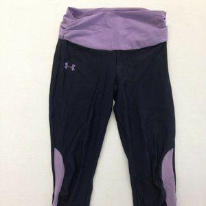 Under Armour Black Purple Compression Athletic